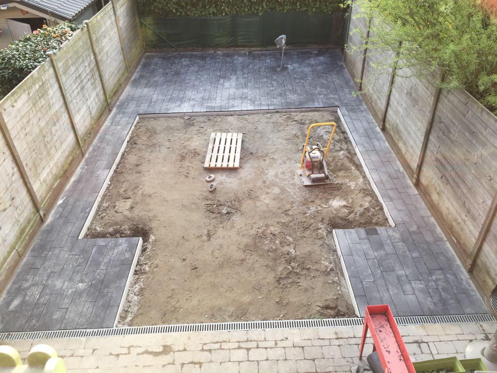 Aanleg tuin te Dendermonde